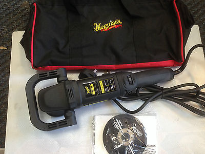 MEGUIARS MT320 Dual Action Machine Polisher Kit + Accessories