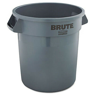 Rubbermaid 10 Gal. Round Brute Container (Gray) 2610GRA NEW