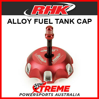 RHK Honda CRF150R CRF 150 R 2007-2017 Red Alloy Fuel Tank Gas Cap, 56mm ID