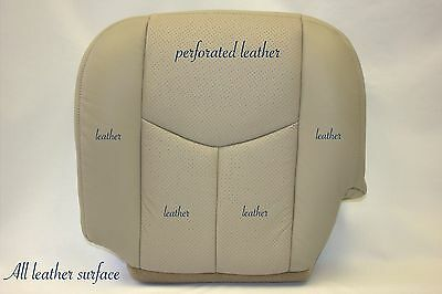 2004 Cadillac Escalade ESV & EXT AWD 2WD Leather Driver Bottom Seat Cover Tan