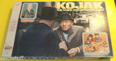 Kojak - The Stake Out Detective Game 1975 Great Graphics! Nice See!