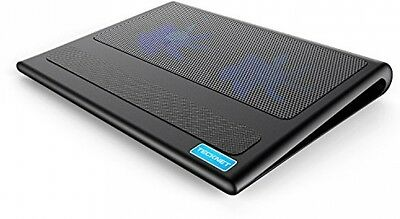 """NEW TeckNet® Laptop and Notebook Cooling Pad 2 Fans Laptop Cooler fits 9""""-16"""""""