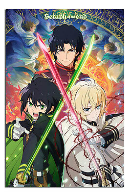 Poster - Seraph Of The End Trio Poster New - Maxi Size 36 x 24 Inch