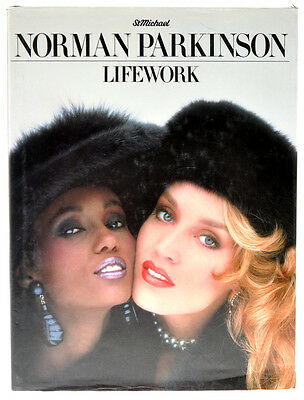"Norman Parkinson libro ""Lifework"" in inglese 1986 D699"
