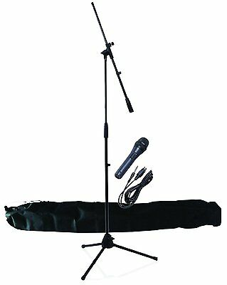 NJS Professional Complete Beginners Microphone and Mic Stand Kit Xmas Gift Bag