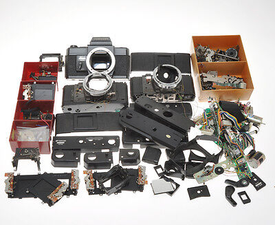 Topcon MT-1 lot of 3 cameras disassembled and not complte