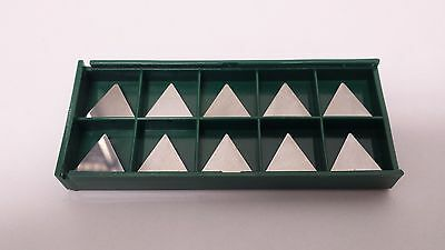 New World Products TPG 321 MP4k C5 Carbide Inserts Uncoated 10pcs TPGN 160304