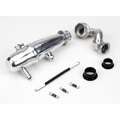 DYNAMITE 1/10 Revo Power Inline Exhaust System: Polished  DYNP5015