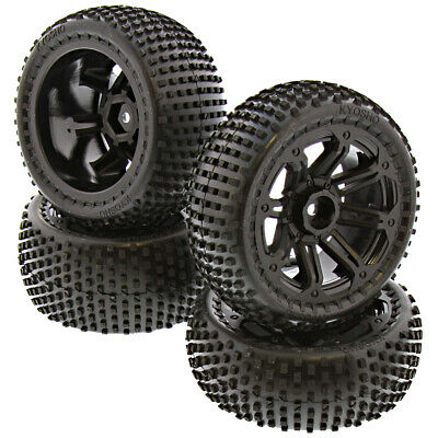Kyosho 1/10 Dirt Hog RS * SOFT COMPOUND TIRES, FOAMS & 12mm WHEELS * Front Rear