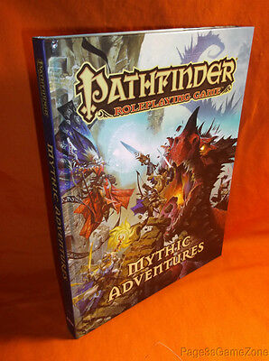 Pathfinder RPG Mythic Adventures HC Roleplaying Game Hardcover PZO1126 2013 OGL