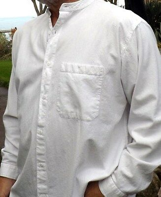 Grandad Shirt Button Through Classic. Quality never an issue...The dogs Doodars
