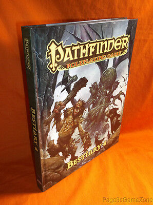 Pathfinder RPG Bestiary 4 HC Roleplaying Game Hardcover PZO1127 2013 OGL D&D 3.5