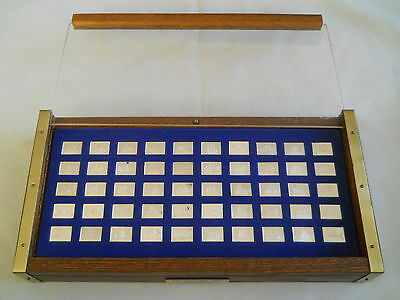 50 Franklin Mint The Great Sailing Ships of History Mini-Ingot Sterling w/ Case