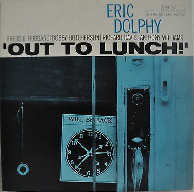Eric Dolphy Out To Lunch Japan Blue Note LP Toshiba BNJ 71041
