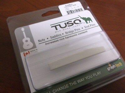 NEW - Graph Tech PQ-9200-C0 Compensated Acoustic Saddle - TUSQ