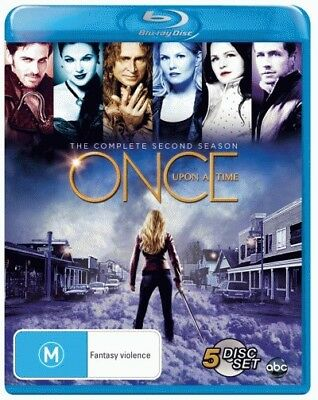 Once Upon A Time: Season 2 Blu-ray Region B (New)!