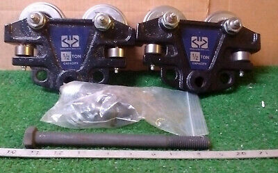 1 New Frost Inc 0605400 Hand Pushed Beam Trolley 1/2 Ton ***make Offer***