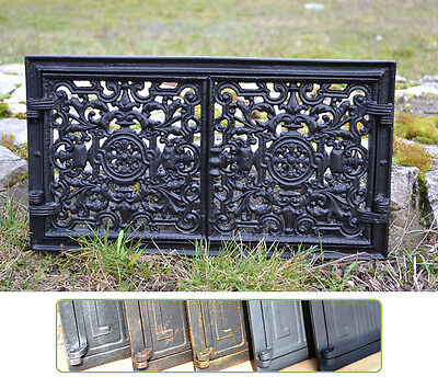 44,5x24,5 Cast iron doors AIR RETURN GRILLES Traditional Vintage Victorian DZ055 • CAD $104.63