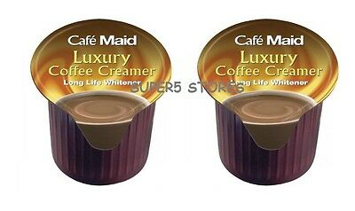 50 x CAFE MAID LUXURY CREAMER- CAMPING, HOLIDAY, HOME, BUSINESS