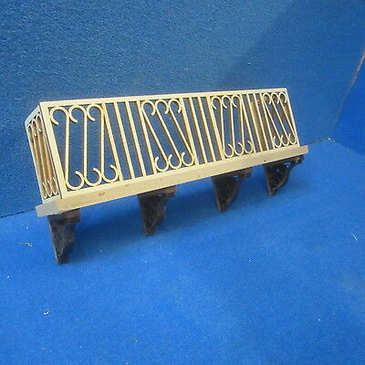 """1/12 scale  Dolls House    Balcony   Kit  8"""" long      DHD97"""