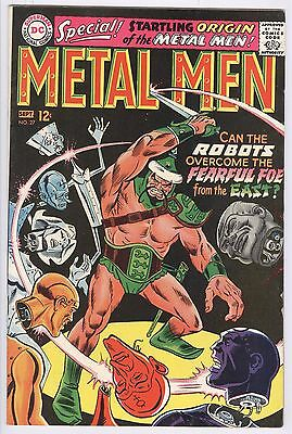 Metal Men Comic #27 (1967) VF DC Silver Age