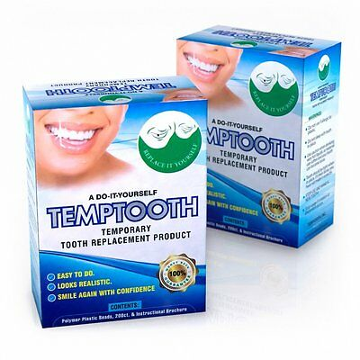 Missing Teeth? Try Temptooth - Temporary Tooth Replacement - Do It Yourself!