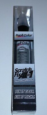 CHRYSLER Bright Silver Dupli-Color ACC 0410 Scratch Fix Touch-Up Paint ALL in 1