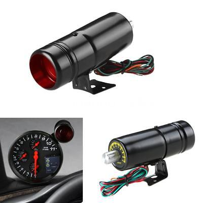 1000-11000 Adjustable Tachometer RPM Tacho Gauge Shift Light Lamp Red LED Light