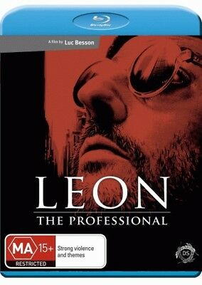 Leon The Professional - Jean Reno, Natalie Portman Blu-ray Region B New!