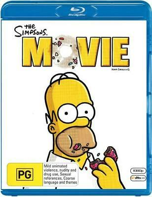 The Simpsons: Movie Blu-ray Region B (New)!