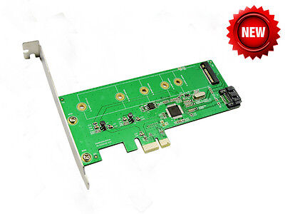 IOCrest PCIe TO M.2(NGFF) + SATA III 6G (HDD/SSD) Marvell 88SE9120 Chipset