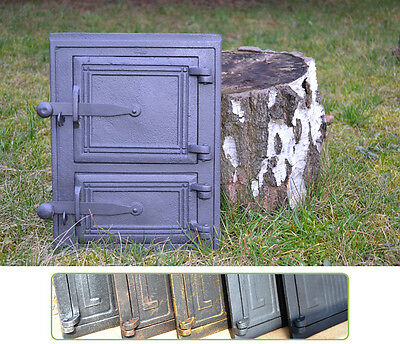 26x35 Cast iron fire door clay /bread oven pizza stove smoke house furnace DZ058
