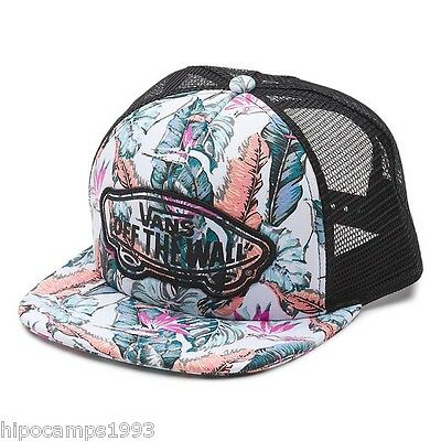 Gorra Vans Beach Girl Trucker Tropical Multi Black REBAJAS DEL 60% ANTES 24€