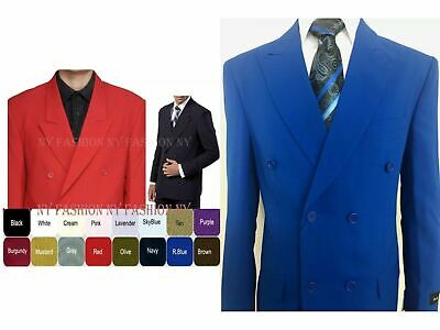 mens' double breasted suit ( come with pants) by Milano Moda Stye #901P