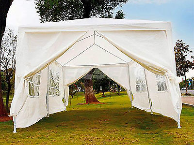 20 X 10 Ft Outdoor Tent Rust & Corrosion Resistant Garden Water Proof New CT4106