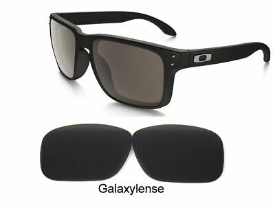 Galaxy Replacement Lenses For Oakley Holbrook Sunglasses Black Iridium Polarized