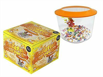 Kids Goldfish Starter Set Aquarium Fish Tank Bowl Gravel & Plant Kit New
