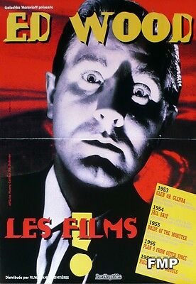 Ed Wood Film Festival - Small French Movie Poster