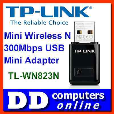 TP-Link TL-WN823N Mini Wireless N 300Mbps USB Adapter Laptop Notebook PC Network
