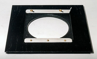 """Adapter 164 x164mm for SENECA IMPROVED 11x14"""" to use LINHOF/WISTA boards, Black"""