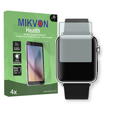 4x Mikvon Health Screen Protector for Apple Watch 38 (2016) BlueLightCut