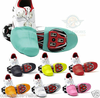 Cycling Shoe Toe Covers Water Proof Resistant Silicone Bicycle Cleat Cap Warmers