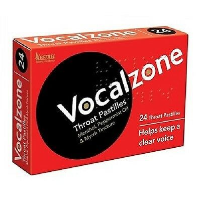 Vocalzone Pastilles 24 (Available In Multi-Pack)