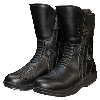 Spada Hurricane 2 Waterproof Motorcycle Motorbike Touring Boots - Black