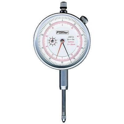 "Fowler, 52-530-110-0 1""/25 mm Reading Dial Indicator"