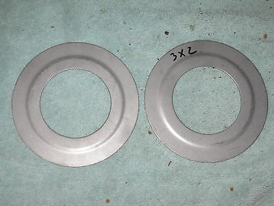 (PAIR (2))  of  3 to 2 Inch Galvanized Steel Conduit Reducing Washer