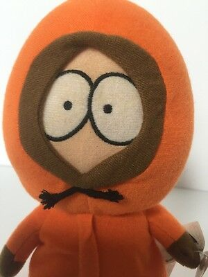 "NEW  South Park Plush KENNY  2008 8""tall Orange comedy Central"