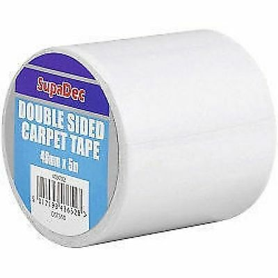 409702 DST485 Double Sided Carpet Tape - 48mm x 5m