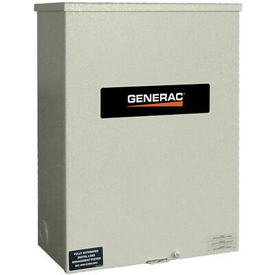 Generac 100-Amp Outdoor Automatic Transfer Switch w/ Power Management