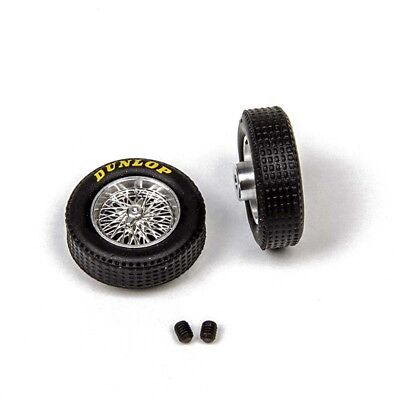 M026 Mitoos Classic Photo Etched Wire Alloy Wheels x2 New 16.6 x 6mm